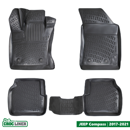 Picture of JEEP Compass Custom-Fit Floor Mat 2017-2021